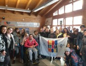 Studenti in visita all'AVDA S.p.A.